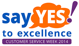 In national customer service week by recognising and celebrating the value of excellent customer service